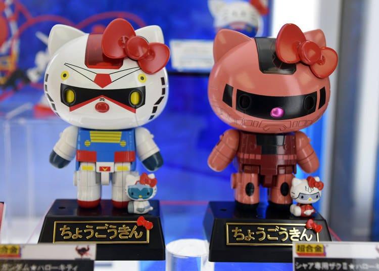 1. Hello Kitty x 鋼彈