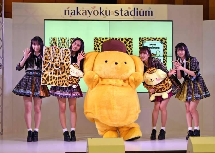 3. 大阪人氣偶像NMB48和布丁狗的首次聯名合作