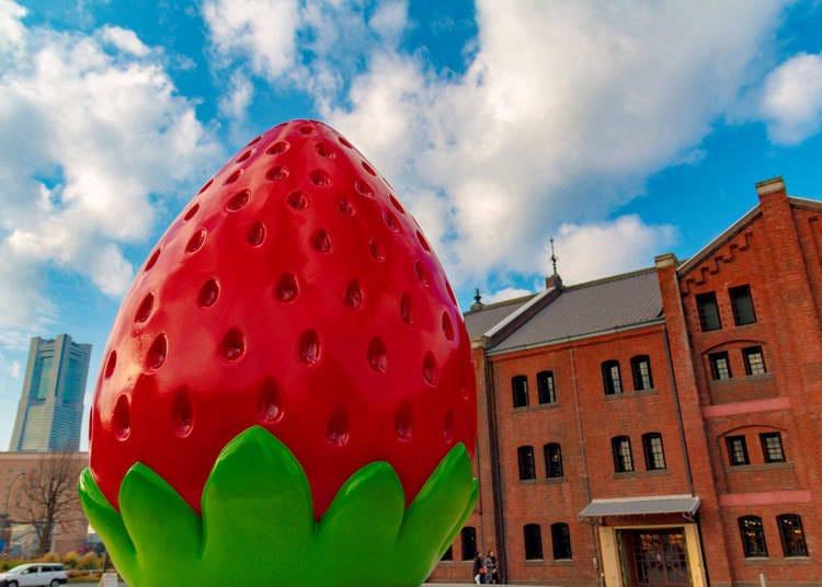 横浜で苺スイーツの数々が味わえる「Yokohama Strawberry Festival 2020」