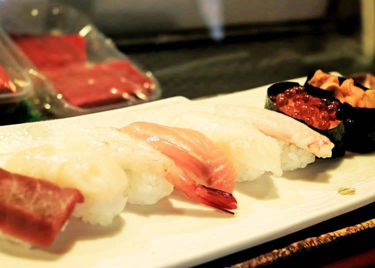 【食べる】本場のお寿司、うどん、お好み焼きが気になる
