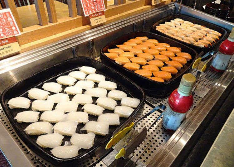 우에노 아메요코에서 초밥을 원없이 먹을 수 있는 가게 3곳! 연어와 연어알 모두 배불리 먹을 수 있다.