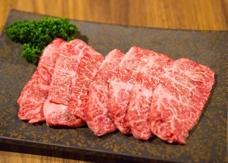 上野和牛烤肉吃到饱2)太狂!极上和牛只要3980就能吃得到-「烤肉 肉缘 上野店」