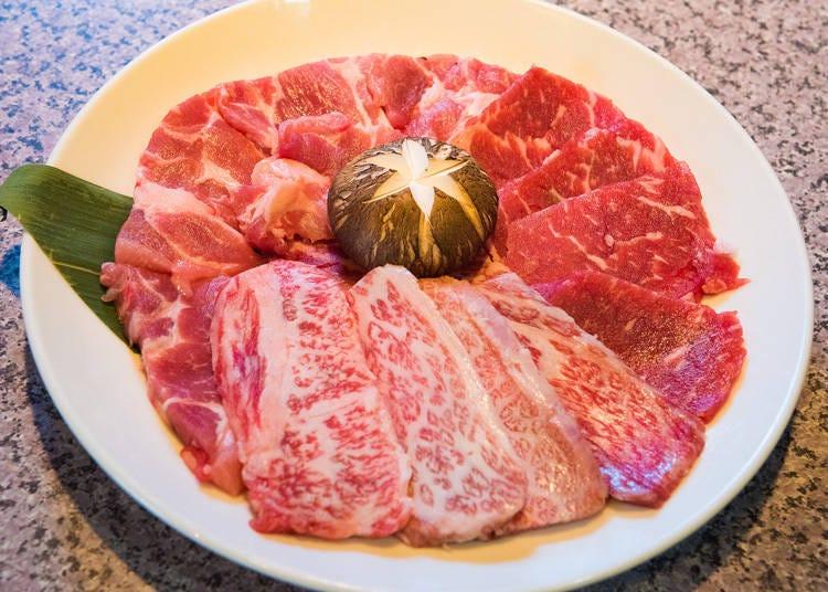 上野和牛烤肉吃到饱3)绝品牛五花&里肌肉!东北和牛吃到饱-「牛STAR 上野店」