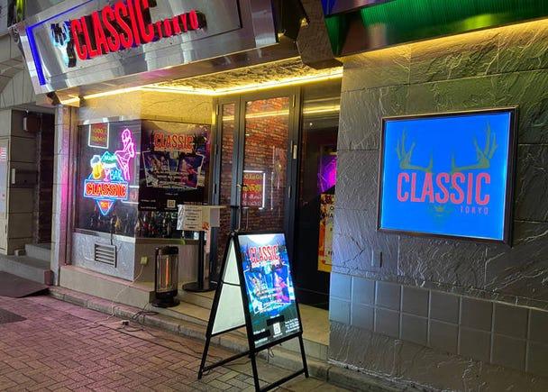 本格的なポールダンスやDJのプレイがゴキゲンな「Classic Tokyo」