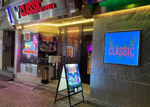 上野酒吧推薦1. 超嗨DJ現場表演&專業鋼管舞驚艷視覺與聽覺-「Classic Tokyo」