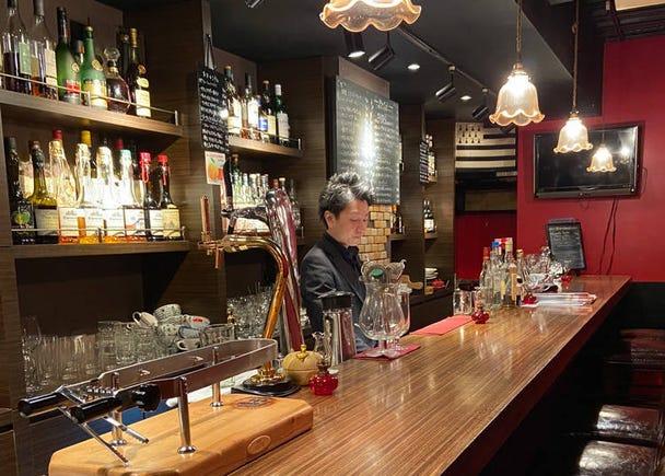 上野酒吧推薦2. 用法式薄餅和蘋果酒週遊世界-「BAR LEON」