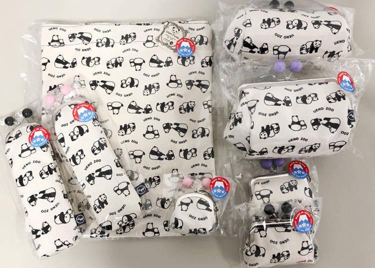 上野動物園人氣熊貓商品-第4名:簡單的設計深受男女老少的喜愛「前田染工系列」
