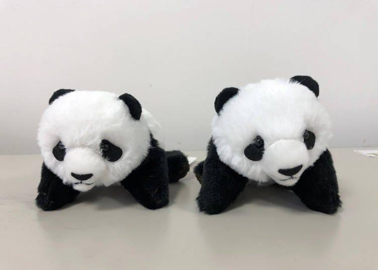 上野動物園人氣熊貓商品-第1名:以香香兒童時期為設計的「累癱的小香香」