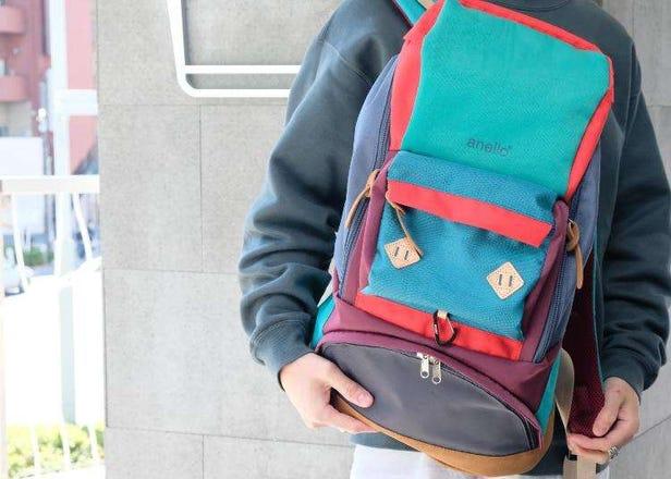 하라주쿠에 있는 anello® 1호점 '아넬로 도쿄'에서 구입해야 할 신상품&일본 한정판 상품 5선은 바로 이것!