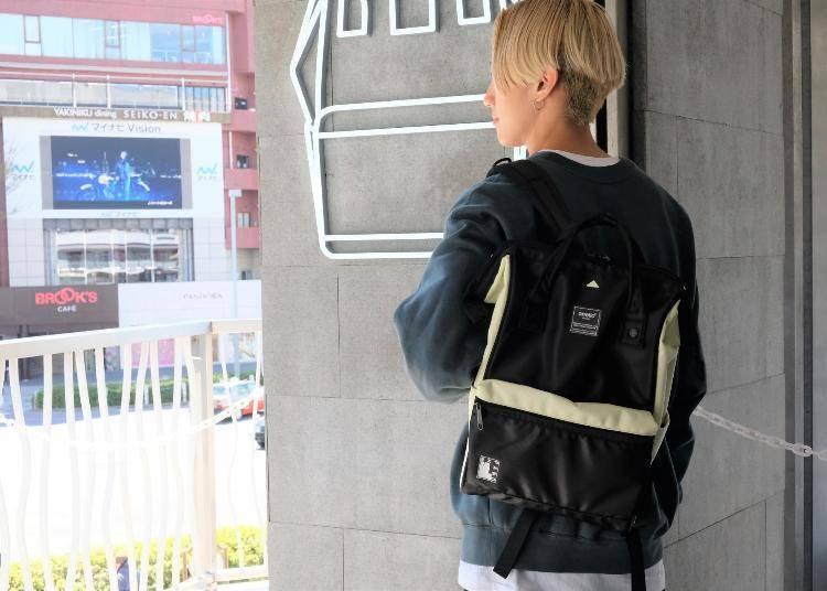 anello正版包款推荐② 东京限定色只有这边卖「EXPAND2 口金后背包R(Official Limited)」