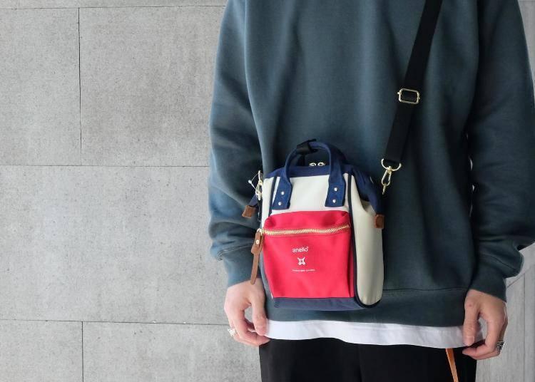 anello正版包款推薦① 經典款口金後背包做成迷你尺寸「RE:MODEL迷你口金兩用手提斜背包(Japan Limited)」