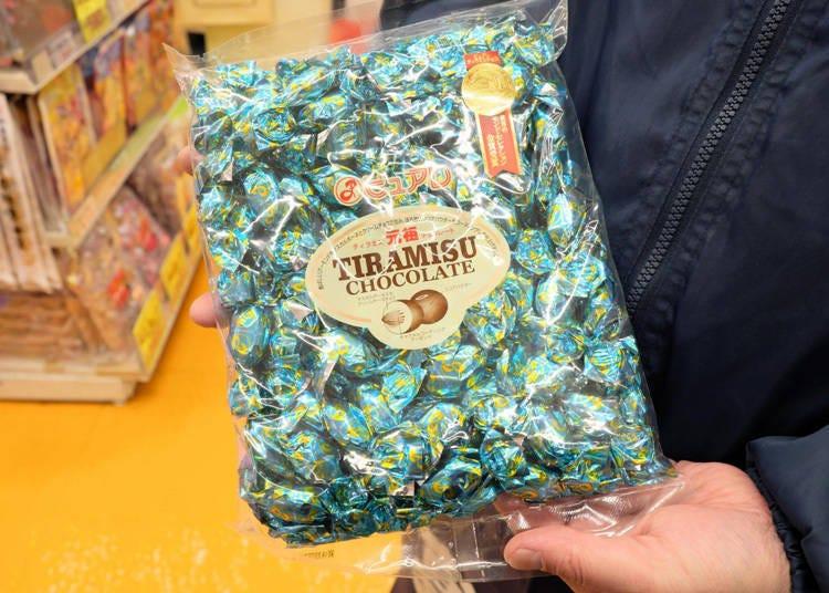 3) Tiramisu Chocolate