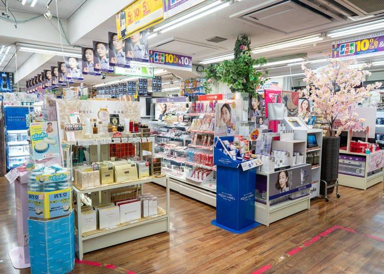 多慶屋裡滿足你所有需求的化妝品賣場