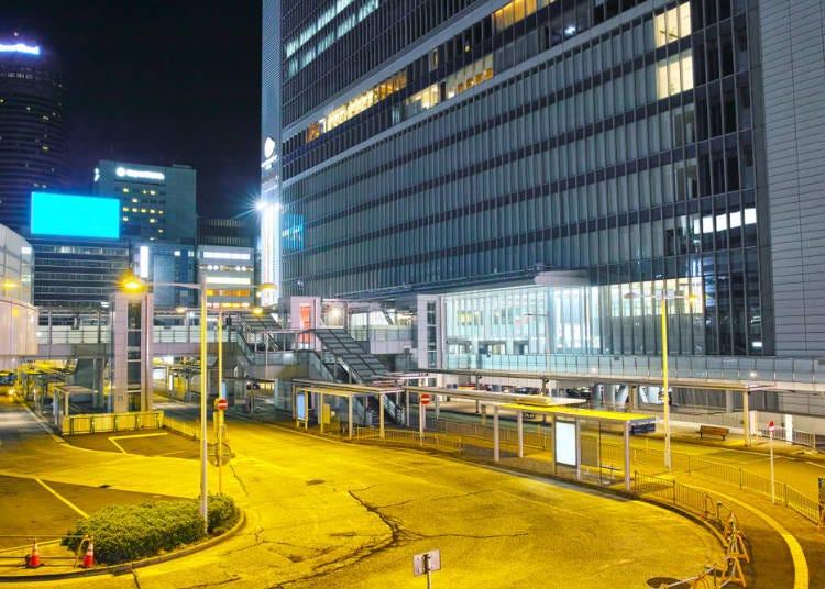 20:00 - Buy a drink at Shin-Yokohama Station and board the Shinkansen!