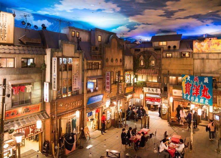 19:00 いざ、新横浜ラーメン博物館へ!横浜1日満喫プランはラーメンで締めくくる