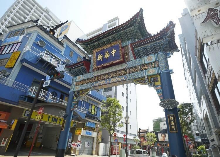 10:00 在中華街品嘗日本的中式料理飽餐一頓
