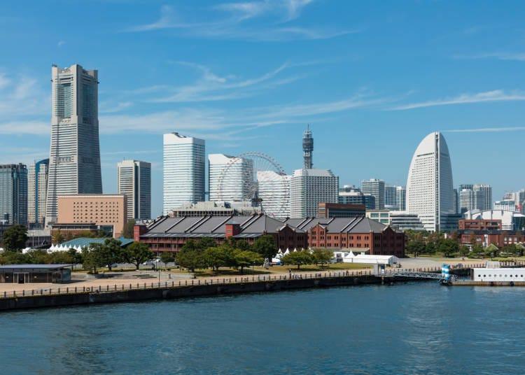 16:00 欣賞被入選「都市景觀100選」横濱港未來區城市風景