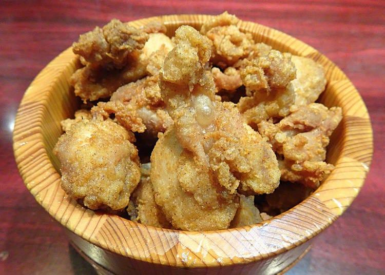 名物のからあげ食べ放題が人気の「炙りや鶏兵衛 渋谷駅前店」