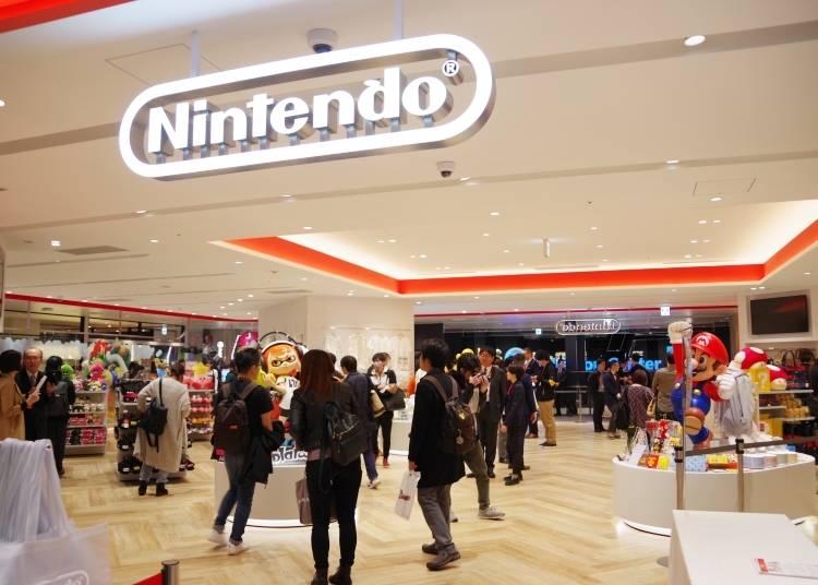 AM10:00 渋谷PARCO「Nintendo TOKYO」で限定グッズget