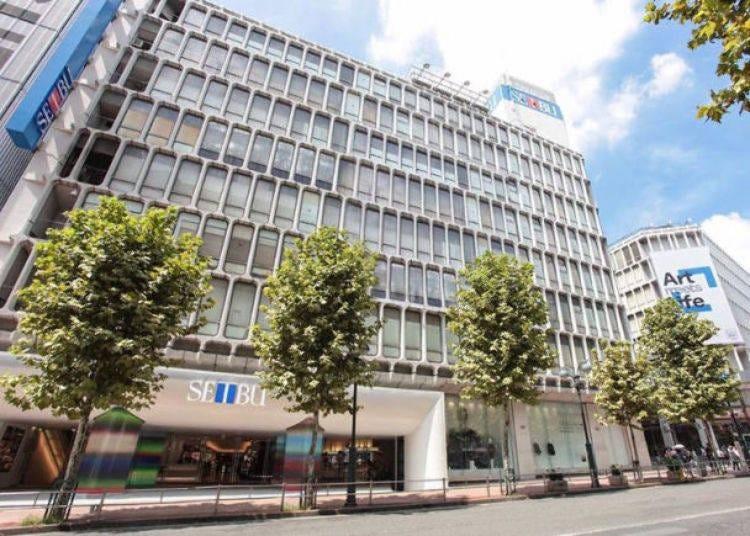 9. Seibu Shibuya, a long-established department store near the Scramble