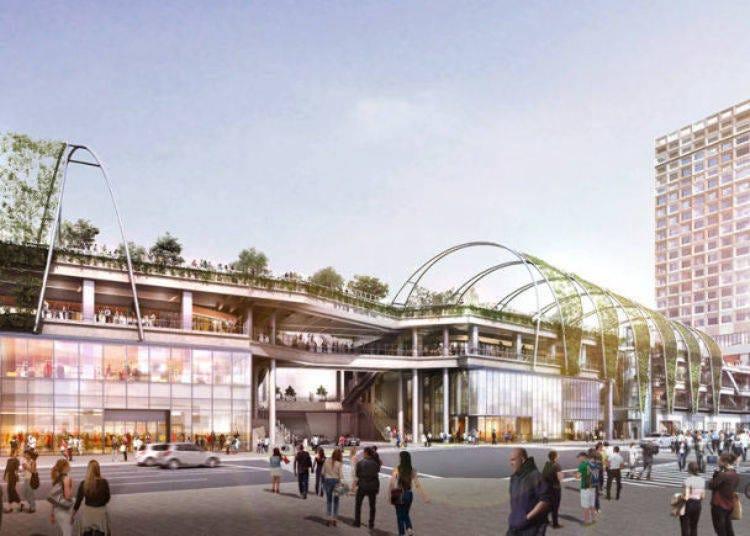 16. MIYASHITA PARK, a new facility created around the charm of Miyashita Park