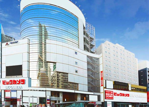 About BicCamera Shibuya East Store