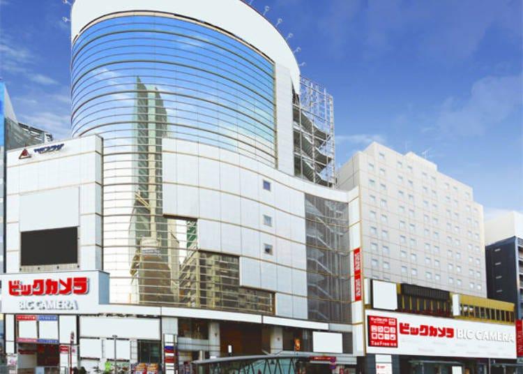 BicCamera澀谷東口店的特色