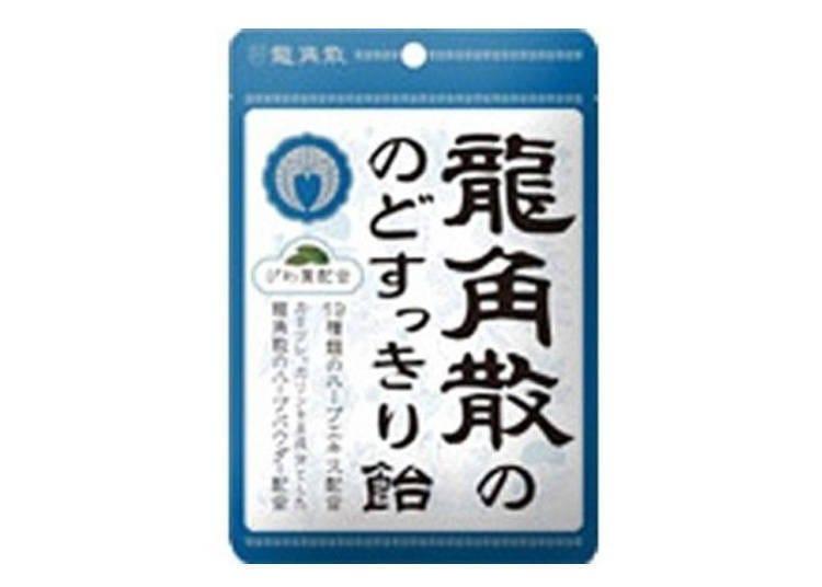 【BicCamera 涩谷东口店药妆商品TOP5】龙角散 清爽喉糖