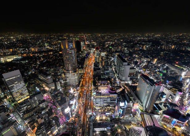 越夜越美丽!涩谷华丽夜景尽收眼底的绝景设施5选