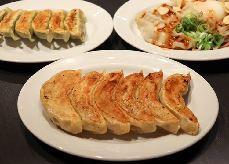 涩谷美食推荐②各种创意饺子让你吃得饱足又开心「The GYORUBI」