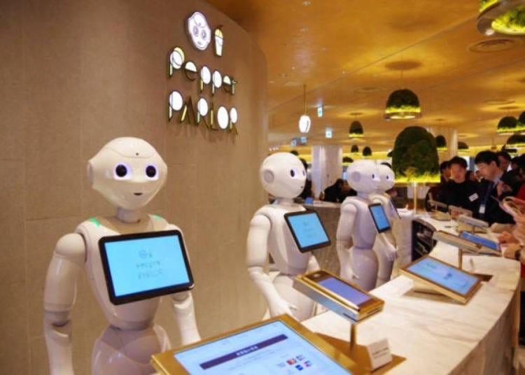 涩谷人气午餐⑩机器人来为你上菜! 「Pepper PARLOR」