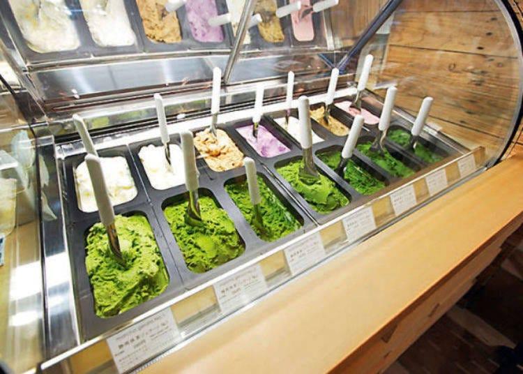 澀谷人氣午餐⑦抹茶冰淇淋名店「Nanayaななや」