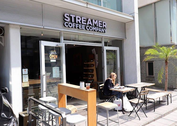 涩谷小吃④喝杯咖啡轻松一下「STREAMER COFFEE COMPANY」
