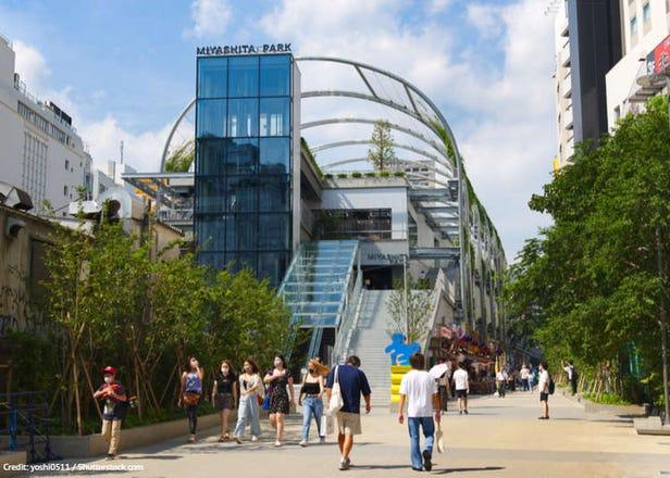 Check out Shibuya's new Miyashita Park: Full of fun side streets, activities, and hotels!