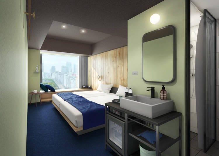 과거에는 없던 새로운 매력이 다양한 호텔 'sequence MIYASHITA PARK'가 북구에 탄생