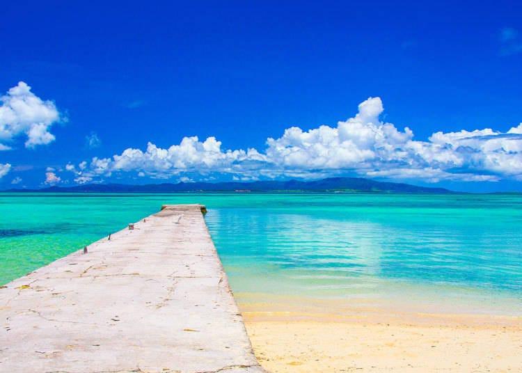 1. 雖然距離很近卻完全不同風貌!日本的海邊都沒有垃圾而且景色超級漂亮