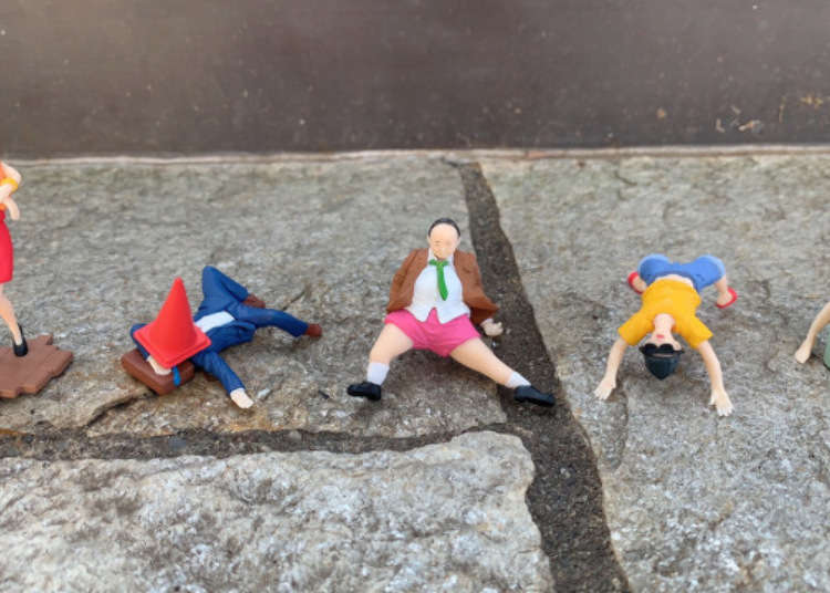 Japanese public intoxication on parade in new line of capsule toys - LIVE JAPAN