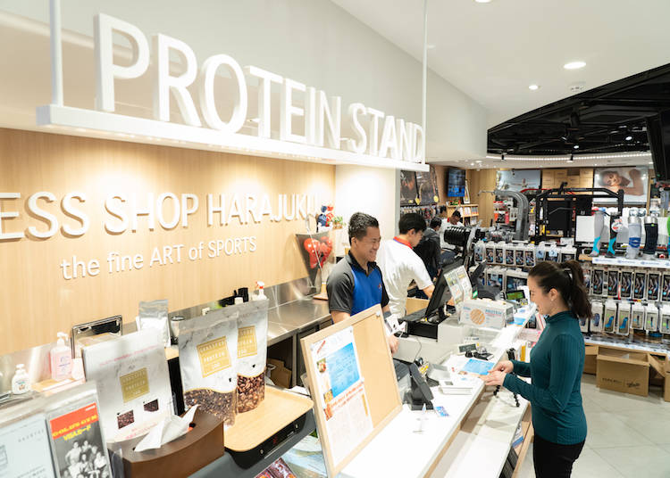 Protein Stand