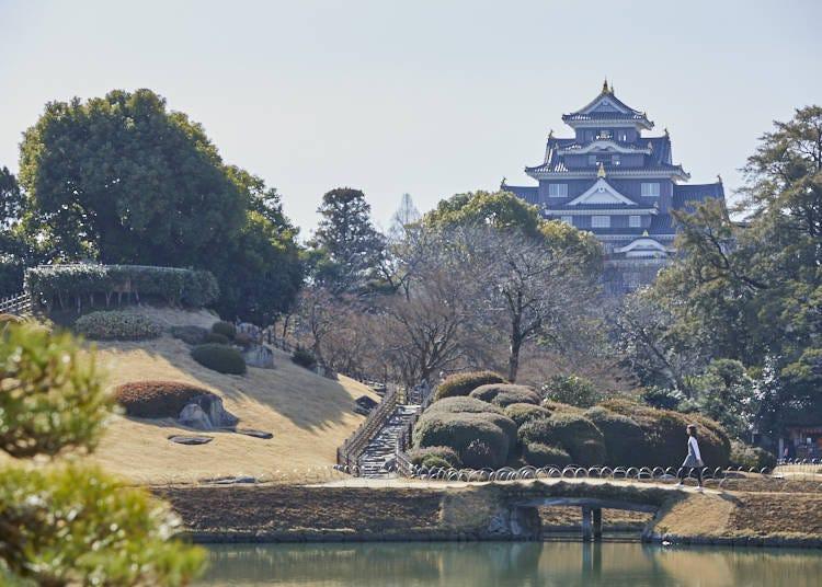 岡山後樂園──令人回憶起日本的往昔歲月