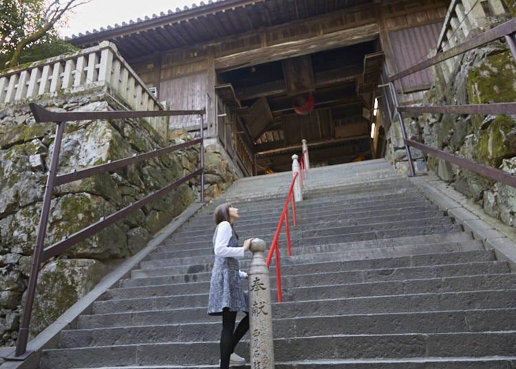 擁抱吉備津神社的靜謐氛圍
