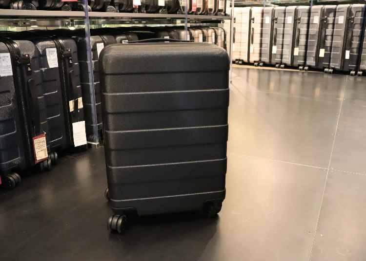 無印良品精選旅行用品①拉桿可自由調節的行李箱「四輪硬殼止滑拉桿箱」