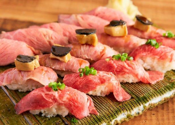 肉寿司食べ放題1980円も! この春注目のラム肉やタン食べ放題3選