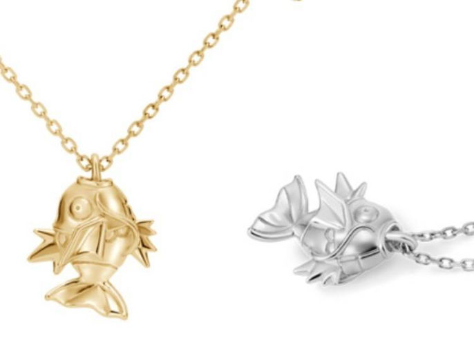 Beautiful Magikarp Necklaces Show Your