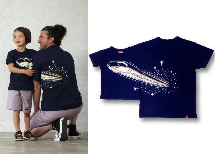 1. Hokuriku Shinkansen Shooting Star T-Shirt