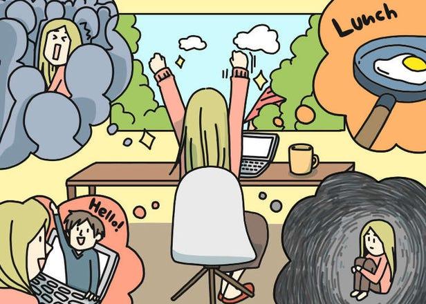 在家工作超輕鬆?在日本就業的外國人的居家辦公體驗真心話大公開!