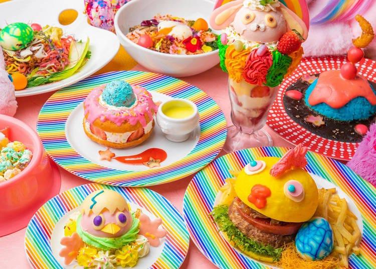 パステルカラー溢れる原宿「KAWAII MONSTER CAFE」で春フェアがスタート!
