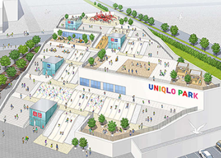 ユニクロの新店舗は「公園」 GU合同の横浜に加え、原宿と銀座に2020年春オープン