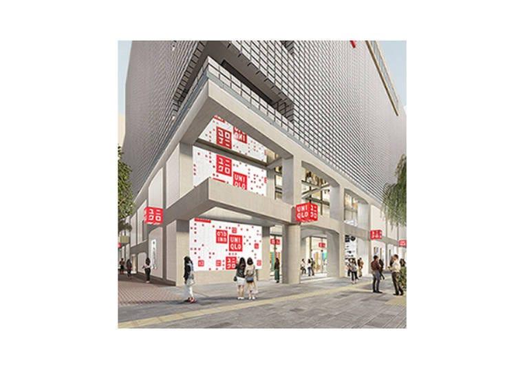 由銀座出發向世界發信「UNIQLO TOKYO店」