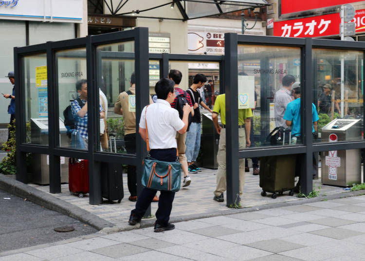 Where Can and Can't You Smoke in Tokyo?