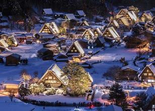 世界遺産も絶景も!東京からお得なバスで「中部地方」の三つ星観光スポットを巡ろう